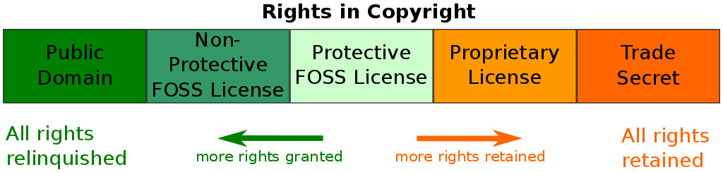 Software license classification