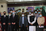 Deputy Secretary of State Stephen E. Biegun participates in a COVID-19 and public health partnership event in Dhaka, Bangladesh, on October 15, 2020. Amena Islam