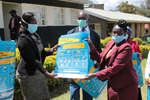 Kenya Poster Distribution. USAID in Africa