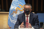 WHO director-general Tedros Adhanom Ghebreyesus warned against the idea that herd immunity might be a realistic strategy to stop the pandemic. WHO via AP